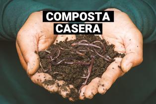 Jardinería en casa: aprende cómo hacer composta