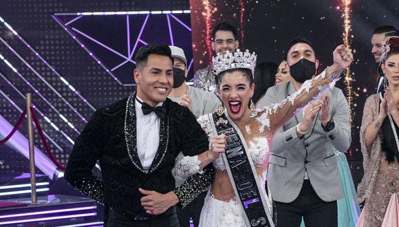 """Korina Rivadeneira dudó que se llevaría la corona de """"Reinas del Show"""". (Foto: GV Producciones)"""