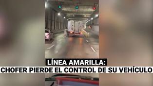 Conductor pierde el control de su vehículo y estuvo apunto de provocar un accidente