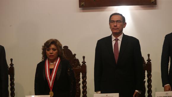 La fiscal de la Nación, Zoraida Ávalos, recordó las competencias del Equipo Especial Lava Jato. (Foto: Francisco Neyra / GEC)