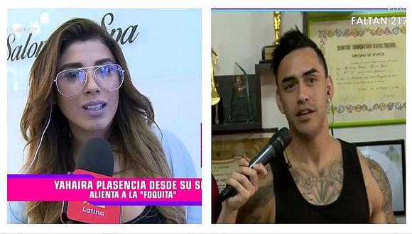Yahaira Plasencia hace desplante a Diego Chávarri en pleno enlace en vivo (VIDEO)
