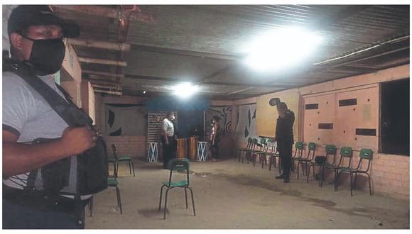 Festejaban en pleno horario de toque de queda en el distrito de Querecotillo.