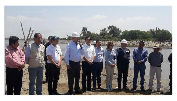 PPK inspecciona obras en el río Virú (VIDEO)