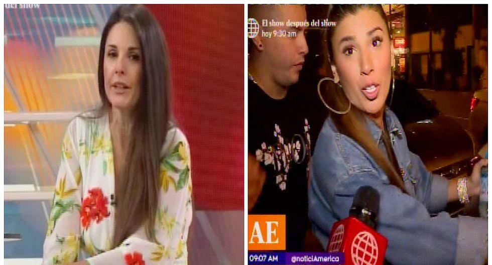 "Rebeca Escribens llama ""aburrida"" a Yahaira Plasencia por dar el mismo discurso para todo (VIDEO)"