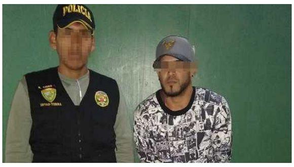 Intervienen a venezolano por robar a transeúntes en San Juan de Miraflores