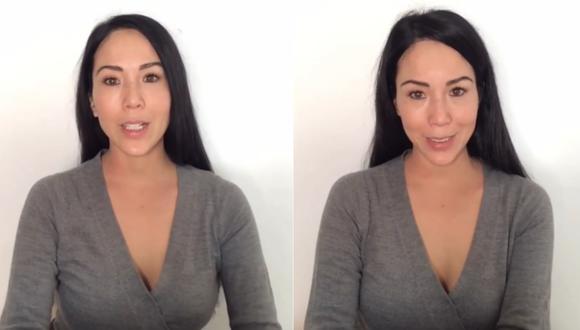 Patty Wong acusa a su expareja de violencia física. | Foto: Instagram.