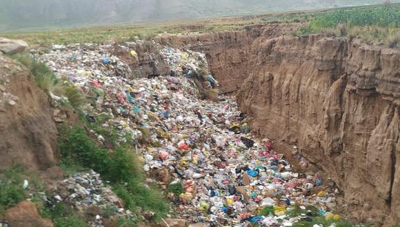 Municipio deberá de trasladar los residuos sólidos a otro lugar. (Foto: Difusión)