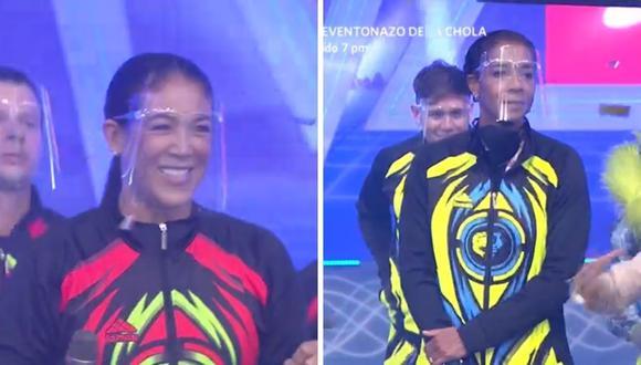 """""""Esto es guerra"""" presentó su edición """"Las Olimpiadas"""" con Leyla Chihuán y 'La China' Rosa García. (Foto: Captura América TV)."""