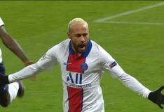 Neymar convirtió el gol del 1-0 en el Manchester United-PSG (VIDEO)