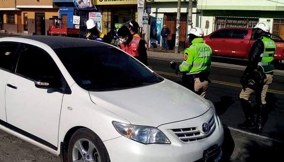 Ica: Sutran realiza operativo contra el transporte informal