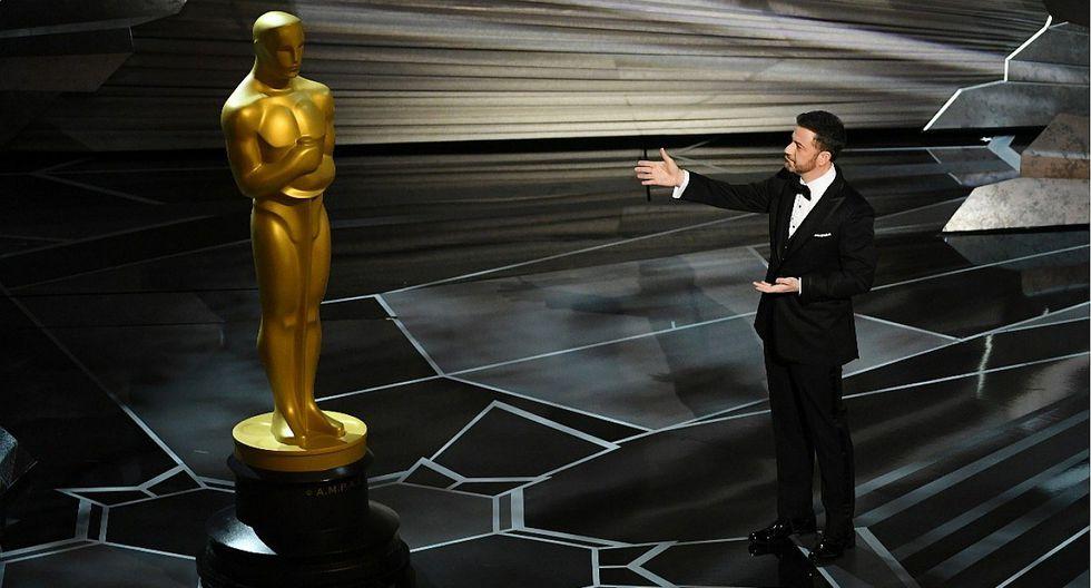 La 90 edición de los Premios Óscar registró la audiencia más baja de su historia