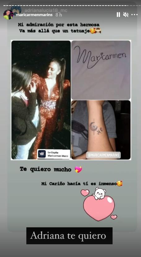"""Maricarmen Marín muestra más tatuajes de sus fans: """"tengo que confesar que varias de mi club tienen uno mío"""" (FOTOS)"""