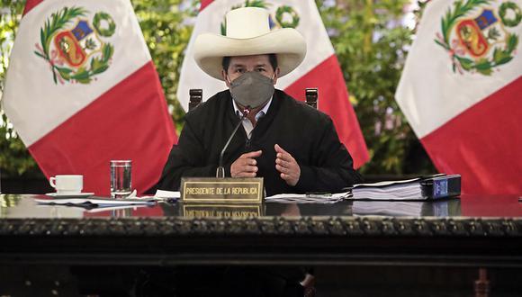 El presidente Pedro Castillo viajará del 17 al 22 de setiembre a México y Estados Unidos. (Foto: Presidencia Perú)