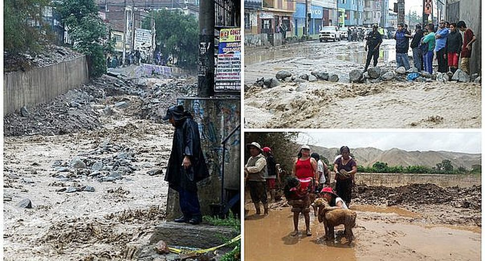 Declaran en emergencia 9 provincias de Lima por desbordes y huaicos