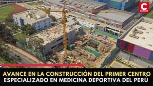 Construcción del primer Centro Especializado en Medicina Deportiva del Perú