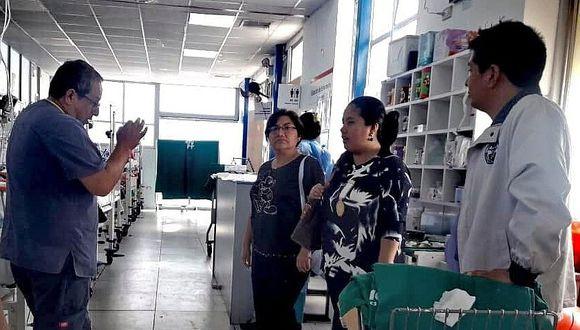 Inspeccionan atención médica en hospital de EsSalud