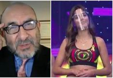 """Elmer Huerta critica a integrantes de programas de TV que solo usan protector facial: """"Es un mal ejemplo a la comunidad"""" (VIDEO)"""
