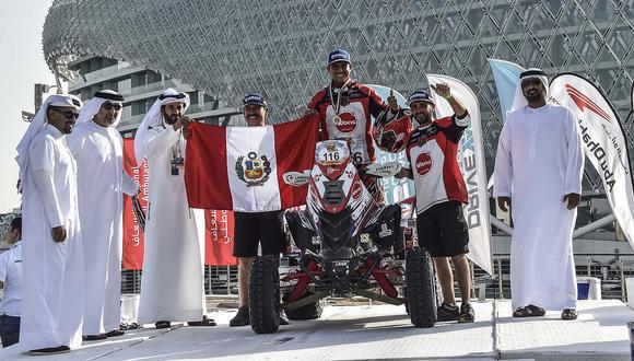 Alexis Hernández se ubicó quinto del mundo en el Abu Dhabi Desert Challenge