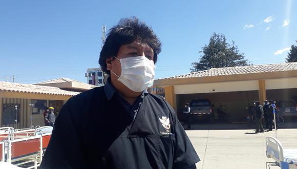 El director de la Red de Salud San Román