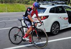 Royner Navarro no pudo terminar prueba de ciclismo en ruta de JJ.OO.