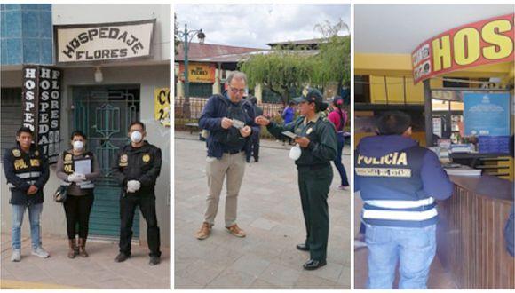 Coronavirus: Policía hace redadas buscando a turistas que no quieran ponerse en cuarentena