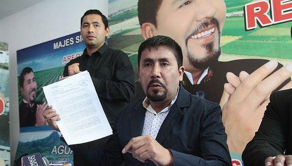 Tribunal del honor amonestó a Elmer Cáceres Llica