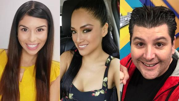 """Stephanie Orúe, Katy Jara y el mago George conducirán """"La Voz Cantante"""" en TV Perú. (Foto: @stephanyorue/@katyjaraoficial/@magogeorge)"""
