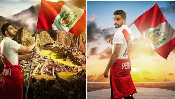 Empresario árabe envía emotivo mensaje a peruanos por Fiestas Patrias