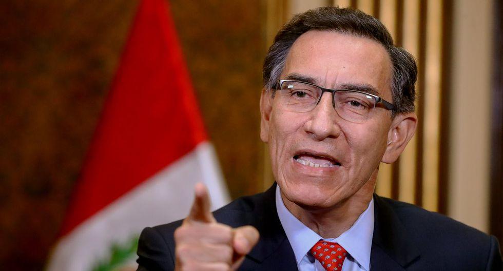 Vizcarra: existe un interés por parte de grupos en el Parlamento de postergar los comicios a fin de extender su periodo