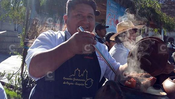 Cayma organiza el Festival del Adobo  con 15 picanterías