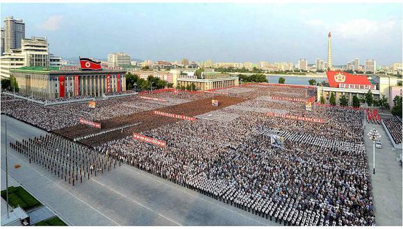 Corea del Norte celebra con un acto multitudinario su última prueba nuclear (VIDEO)