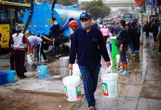 San Juan de Lurigancho: afectados por cortes de agua no realizarán ningún pago en setiembre