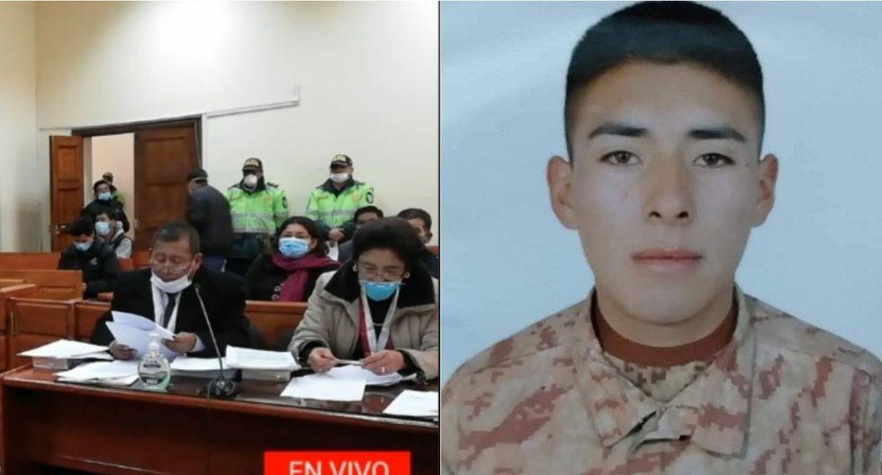 El soldado soñaba con ser policía, según reveló su hermana. Foto: Composición