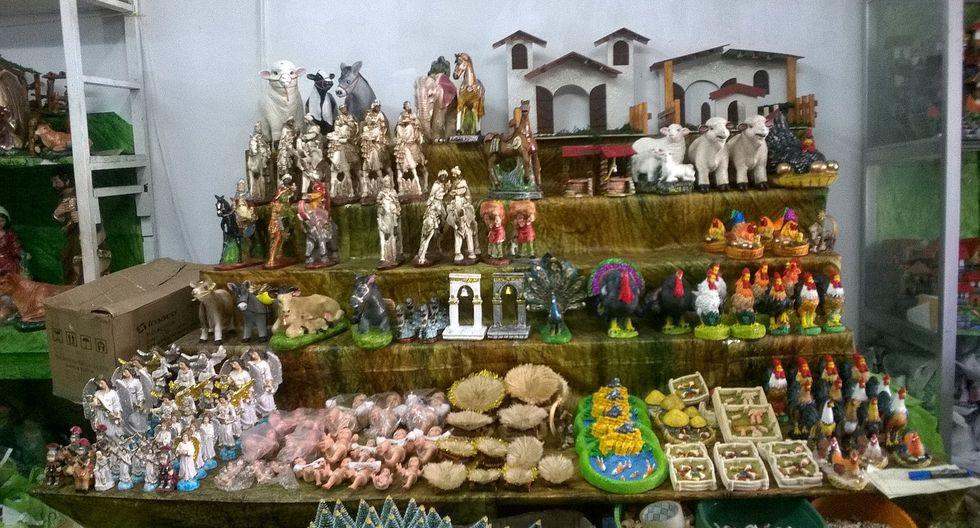 Comerciantes inician campaña navideña en Chiclayo (VIDEO)