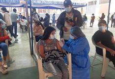 Tacna: Diresa seguirá vacunando a la población de entre 12 a 17 años