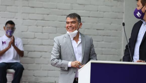 Julio Guzmán es el candidato presidencial del Partido Morado. (Foto: Hugo Perez / GEC)