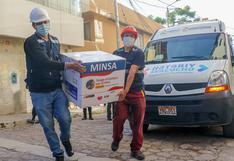 Profesionales de salud reciben segunda dosis de vacuna contra la COVID-19 en Ayacucho