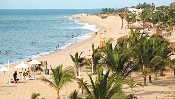 Las playas de Talara entre los destinos favoritos para hacer turismo interno. (Foto: GEC)