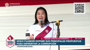 Keiko Fujimori y sus propuestas para eliminar la corrupción (VIDEO)