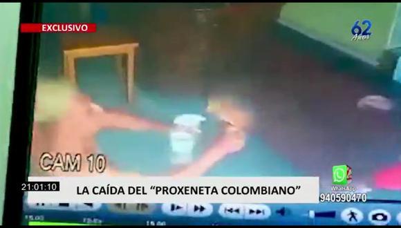 Sujeto fue intervenido dentro de un chifa. (Foto: captura | 24 Horas)