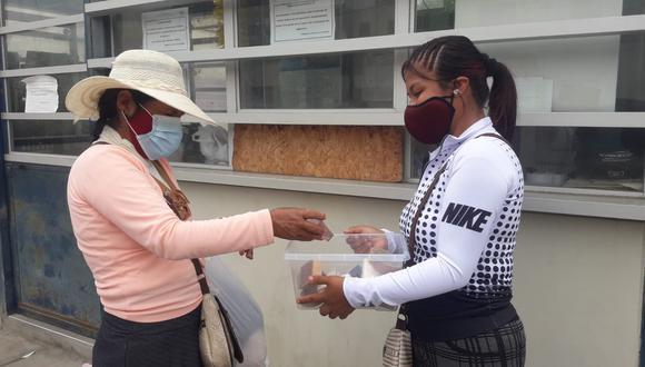 Pisco: Hija vende jabones para comprar la medicina de su papá con el COVID-19.