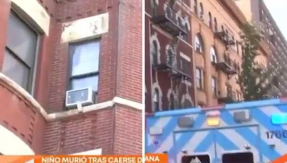 El niño de 3 años cayó a las escaleras del sótano y las autoridades encontraron su cuerpo. (Foto: Twitter @TelemundoNews)