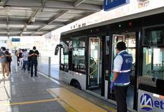Metropolitano: Tres detenidos por intentar robar a pasajeros en la estación Tomás Valle