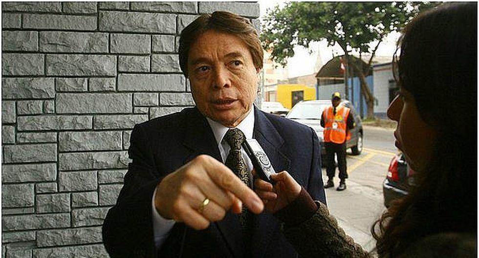 "César Zumaeta: ""Le deseo todos los éxitos a Alan García para que salga bien librado"""