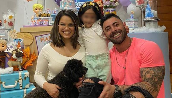 Andrea San Martín y Sebastián Lizarburu celebraron el cumpleaños de su pequeña hija. (Instagram)