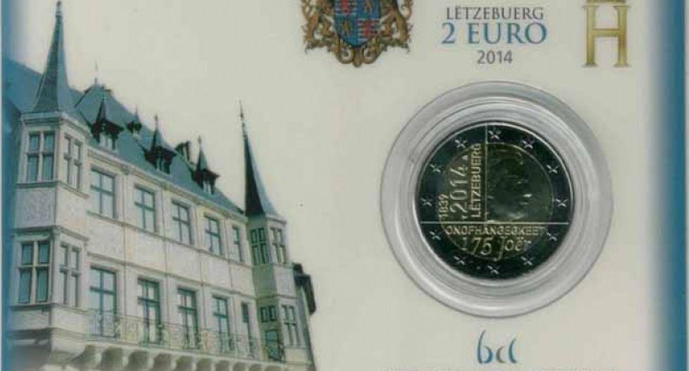 Luxemburgo conmemoró 175 aniversario con moneda hecha con oro peruano
