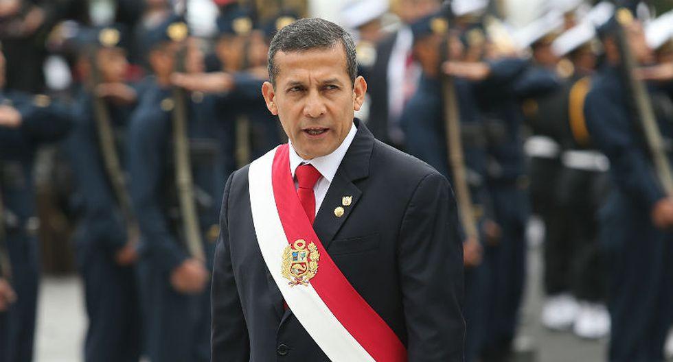 Ollanta Humala criticó fuertemente al sector privado