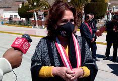 Elvia Barrios: 'No hay persecución política a Vladimir Cerrón'