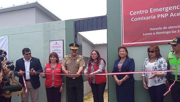 Ministra de la Mujer y Poblaciones Vulnerables inauguró nuevo CEM en Arequipa