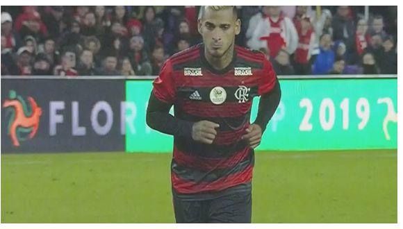 Miguel Trauco anotó de penal en la victoria de Flamengo sobre Ajax (VIDEO)